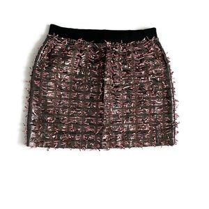 J.Crew Collection Tinsel Mini Skirt
